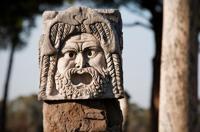 Viagem de meio dia até a antiga Ostia, partindo de Roma