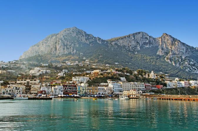 Viagem diurna à Capri saindo de Roma