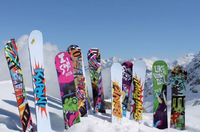 Big Sky Premium Snowboard Rental Including Delivery