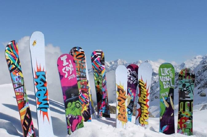 Sun Valley Premium Snowboard Rental Including Delivery