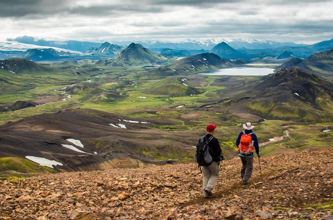 5-day Laugavegur Trek in Huts
