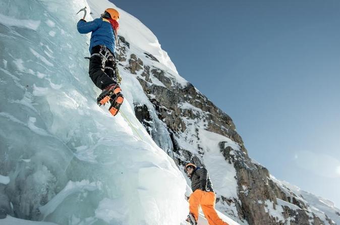 Ice climbing in ilulissat in ilulissat 269425