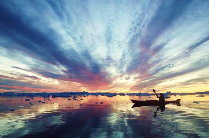 Ilulissat midnight sun kayaking in ilulissat 282221