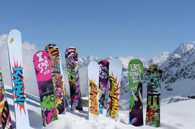 Whistler Premium Snowboard Rental Including Delivery