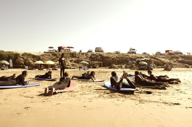 Surf coast morocco surf beginner day trip in agadir 263794