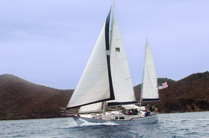 St Thomas Day Sail and Snorkel Excursion