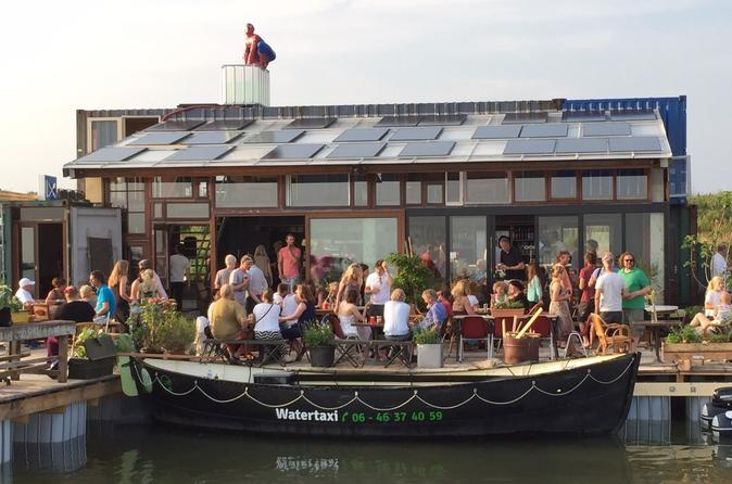 Visit the harbor of the netherlands with the electric watertaxi in in hoorn 263925