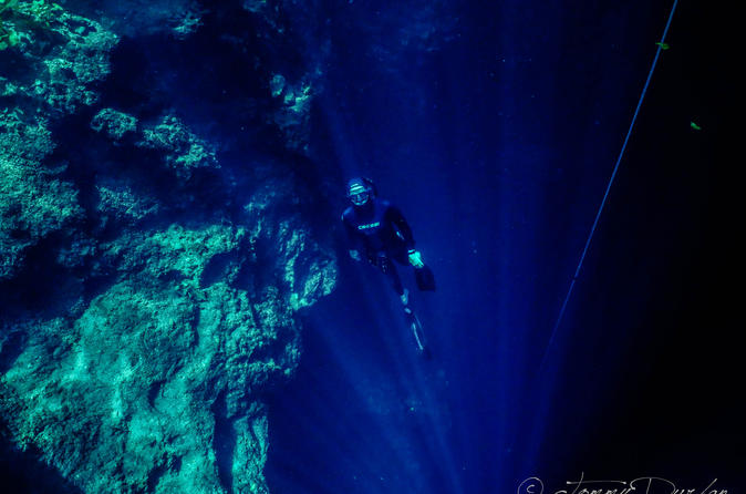 Freediving Training Session in Playa del Carmen