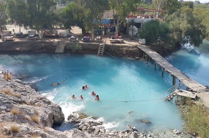 Blue thermal lagoon and fevziye village day trip from dalyan in dalyan belediyesi 264649