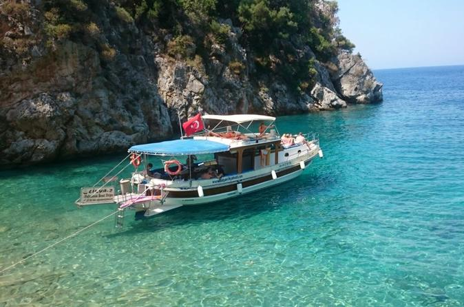 Boat trip to dalyan s best and most secluded devil s bays in dalyan belediyesi 266952