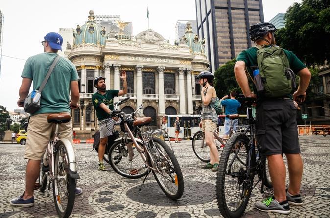 Excursão de bicicleta pela cidade do Rio