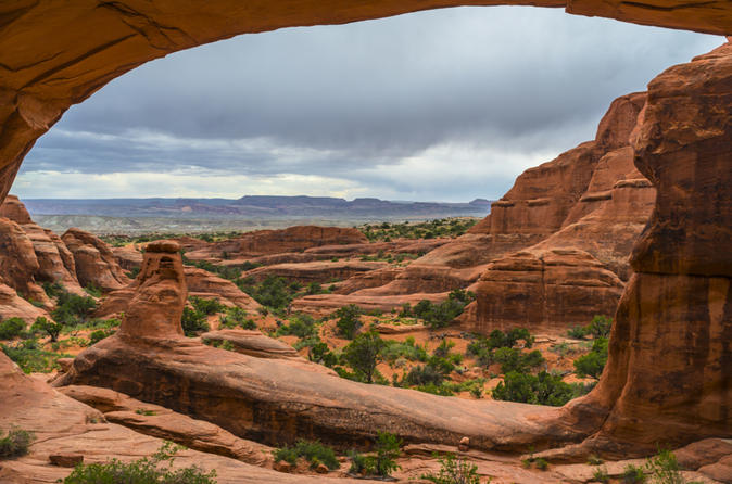 Arches National Park Backcountry 4x4 Half Day