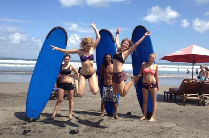 Beginner surfing lesson in bali in denpasar 312647