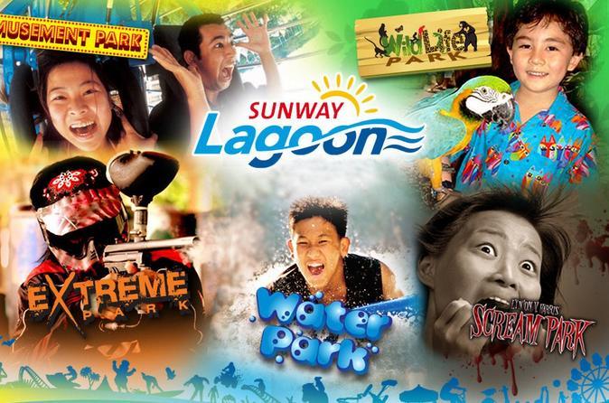 Sunway Lagoon: Admission Ticket & 2-Way Transfer - Kuala Lumpur