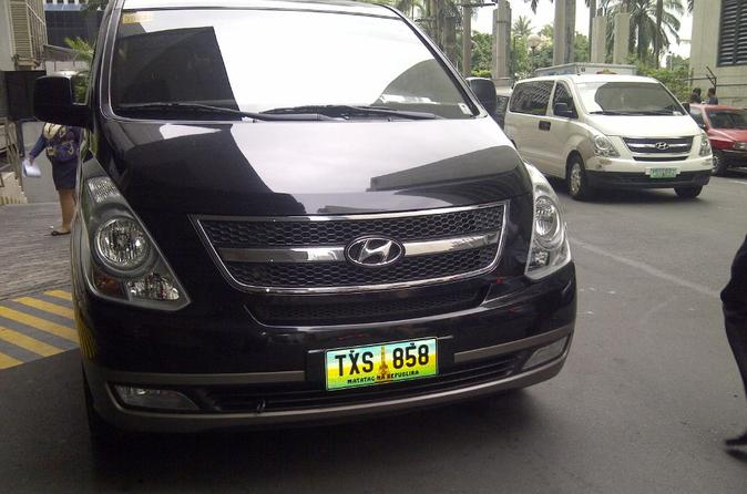 Private Departure Transfer: All Hotels in Ortigas