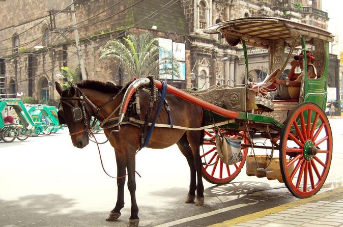 Private Half-Day Shore Excursion Old Manila by Calesa