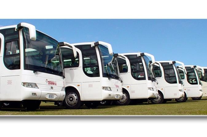 Arrival transfer from Sangster's International to Palladium, Lucea