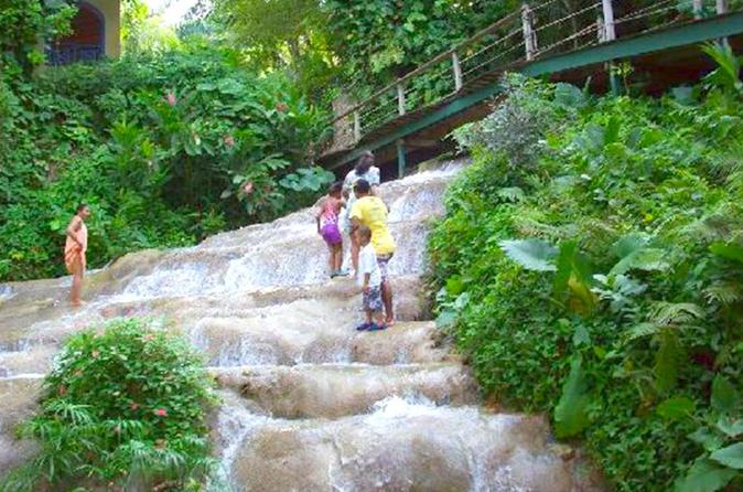 Konoko Falls and Shopping in Ocho Rios from Montego Bay