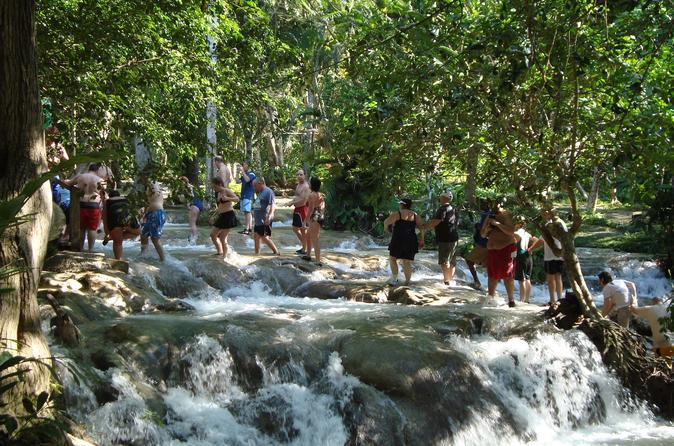 Ocho Rios Special featuring the Falls Botanical Gardens and Shopping from Montego Bay