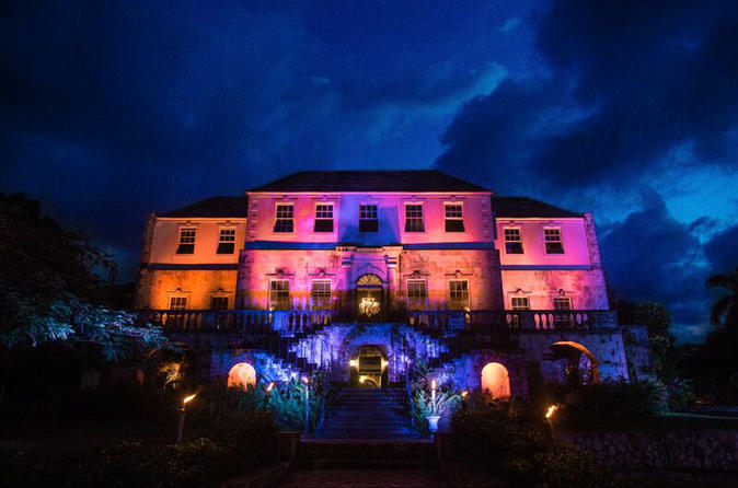 Rose Hall Great House by Night from Montego Bay