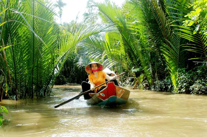 Ho Chi Minh City Mekong Delta Floating Market Day Trip with Traditional Cooking Class Vietnam, Asia