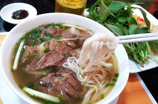 Morning Pho Trail Food Tour in Ho Chi Minh City in Vietnam Asia
