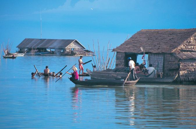 Tonle Sap Secrets Half-Day tour from Siem Reap