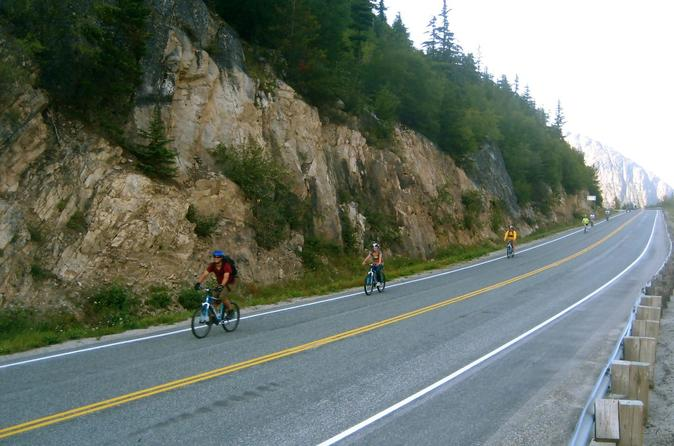 White pass train and bicycle tour in skagway 281301