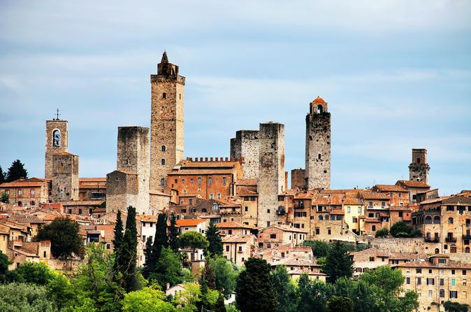Siena com a Contrada de Palio, San Gimignano e Chianti, viagem diurna saindo de Florença com degustação de vinhos e comida
