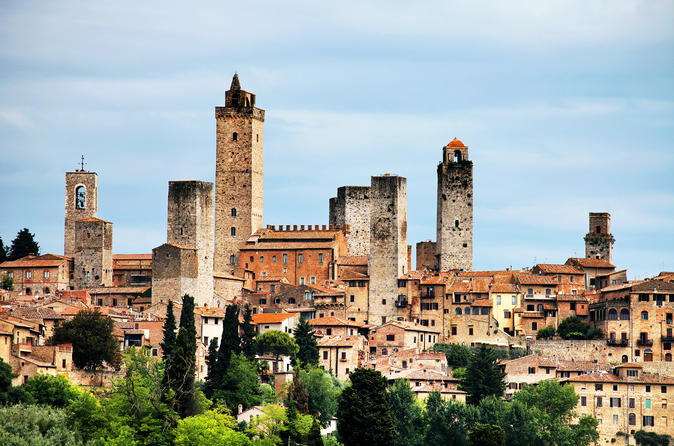 Siena, San Gimignano and Greve in Chianti Day Trip from Florence with Wine Tasting
