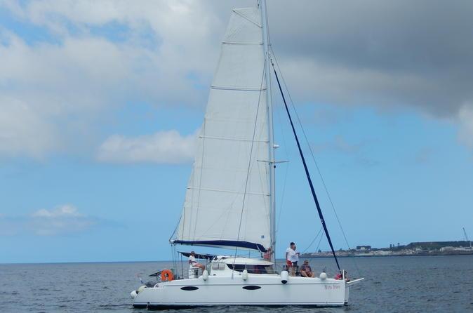VIP Sunset Sailing Tour in Ponta Delgada