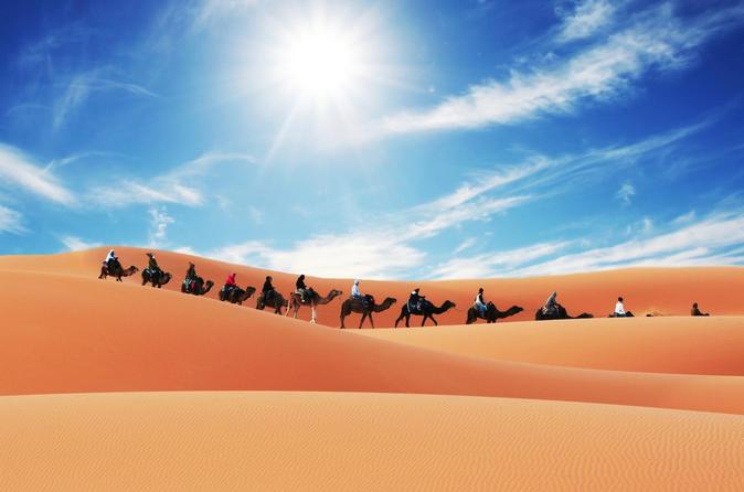 Merzouga Camel Trek for an Overnight in desert