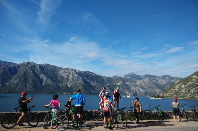 Bike rental self guided cycling tour of the bay of kotor in kotor 381811