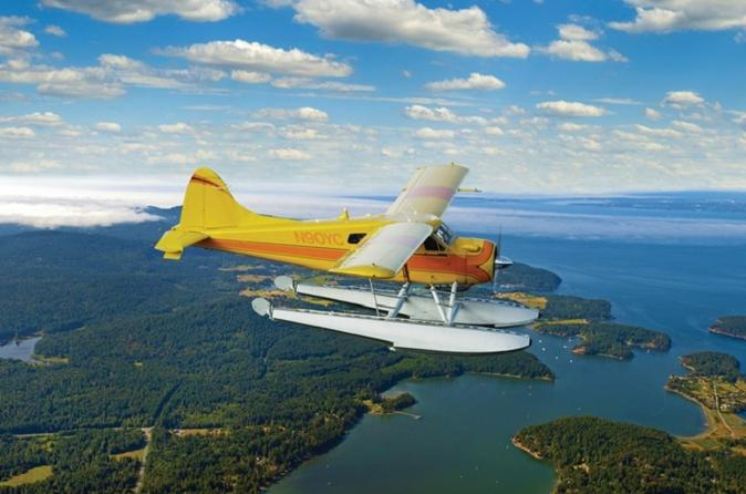 Seattle to Friday Harbor Seaplane Flight