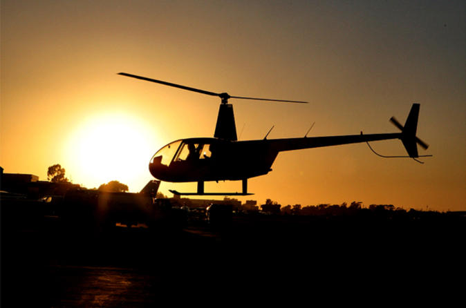 Los Angeles Romantic Helicopter Night Flight