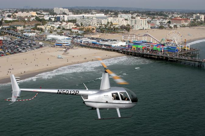 Los Angeles Shore Excursion: Pre- or Post-Cruise VIP Grand Helicopter
