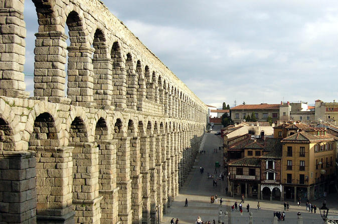 Day Trip to the Ancient City of Segovia and gourmet experience