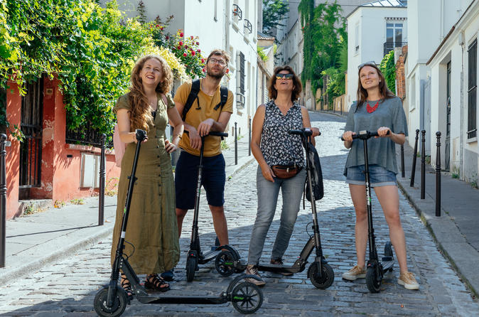 Private Electric Scooter Ride through History of Paris