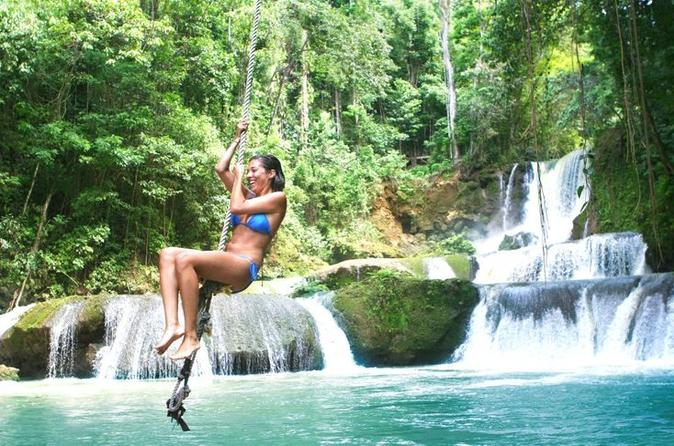 YS Falls and Appleton Rum Tour from Montego Bay