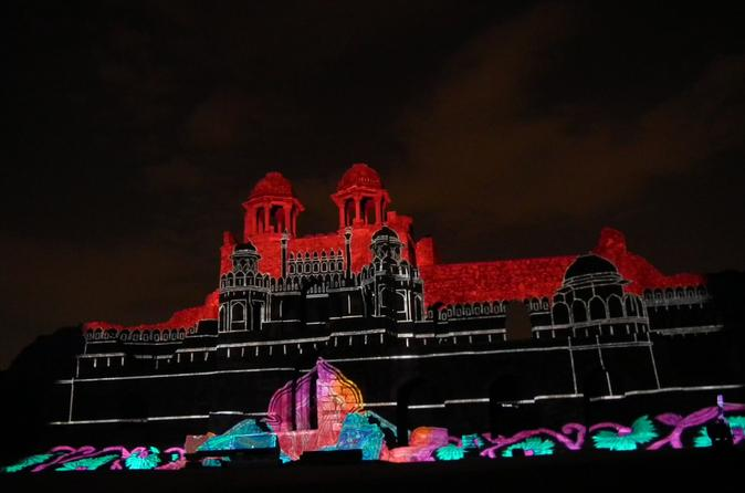Delhi Old Fort Purana Qila Sound and Light Show Including Dinner