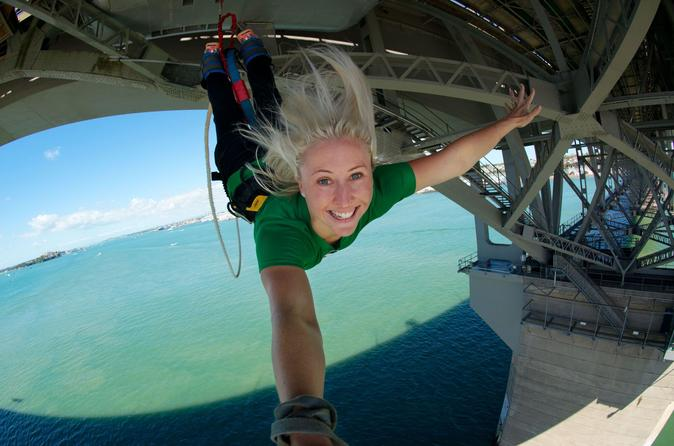 Auckland harbour bridge bungy jump in auckland 409874