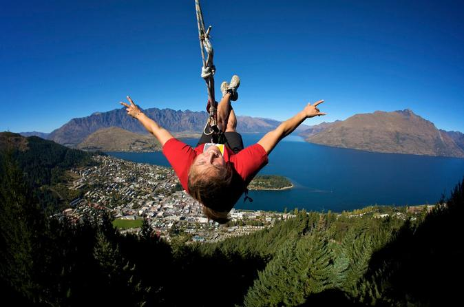 The Ledge - Sky Swing (Salto com balanço) em Queenstown