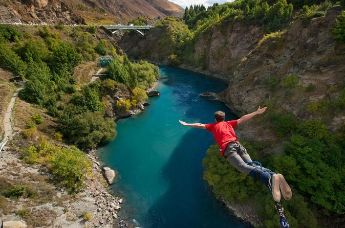 The original kawarau bridge bungy jump in queenstown in queenstown 245208