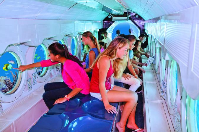 Expedição submarina Atlantis em Aruba