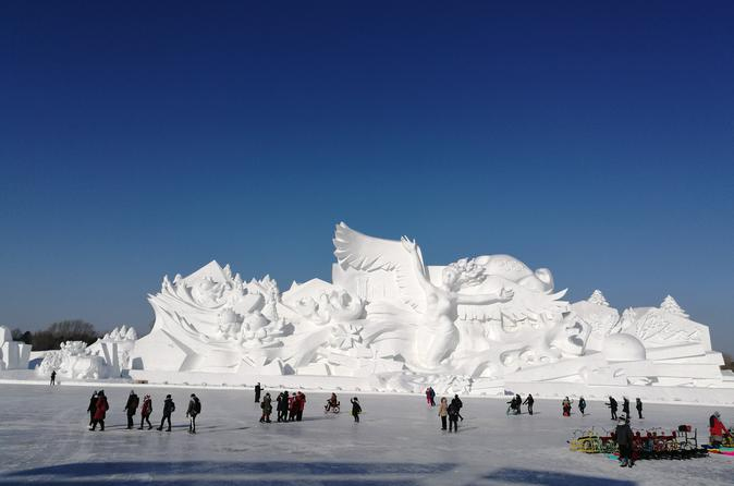 2-Day Harbin City Private Tour with Ice and Snow Festival with Lunch