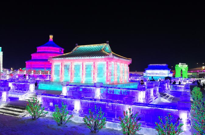 3-Day Harbin City Private Tour with Ice and Snow Festival with Lunch