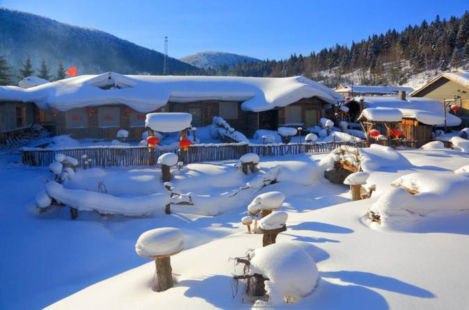 3-Day Private Trip To China Snow Town from Harbin with Hotel Accommodation