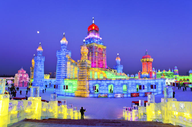 4-Day Harbin City Private Tour with Ice and Snow Festival with Lunch