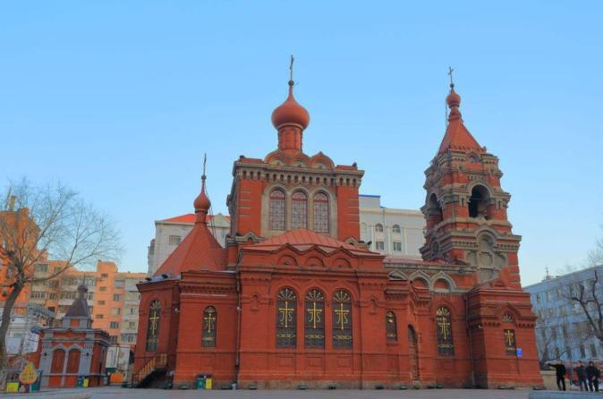 4-Hour Tour to Harbin Church,Gogol Street,Hongbo Square and Heilongjiang Museum