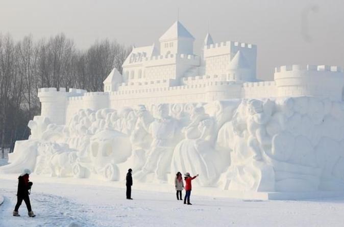 Group Transfer to Harbin Ice and Snow World plus Sun Island Snow Sculpture Festival